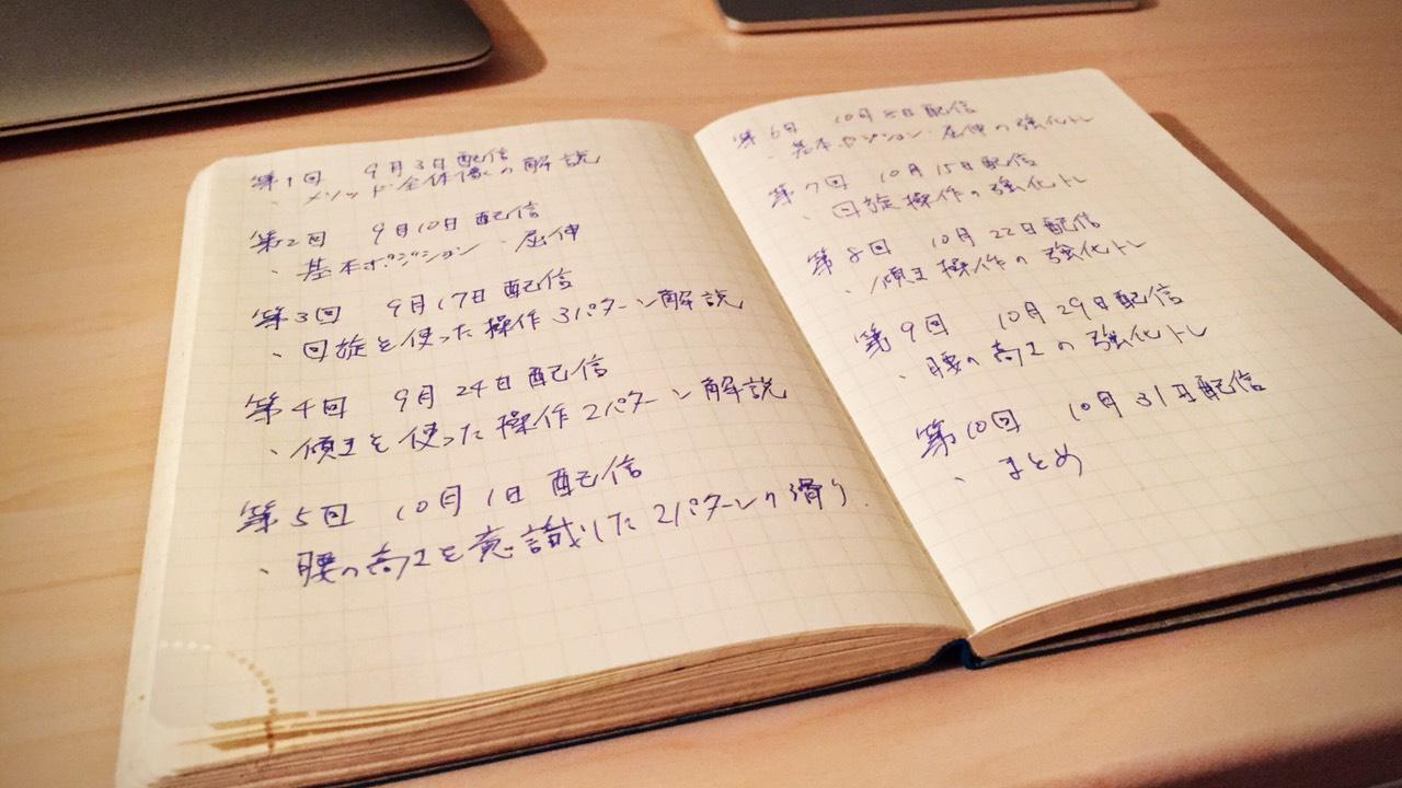 """オンラインスクール 2015-2016 """"fall"""" 目次公開"""