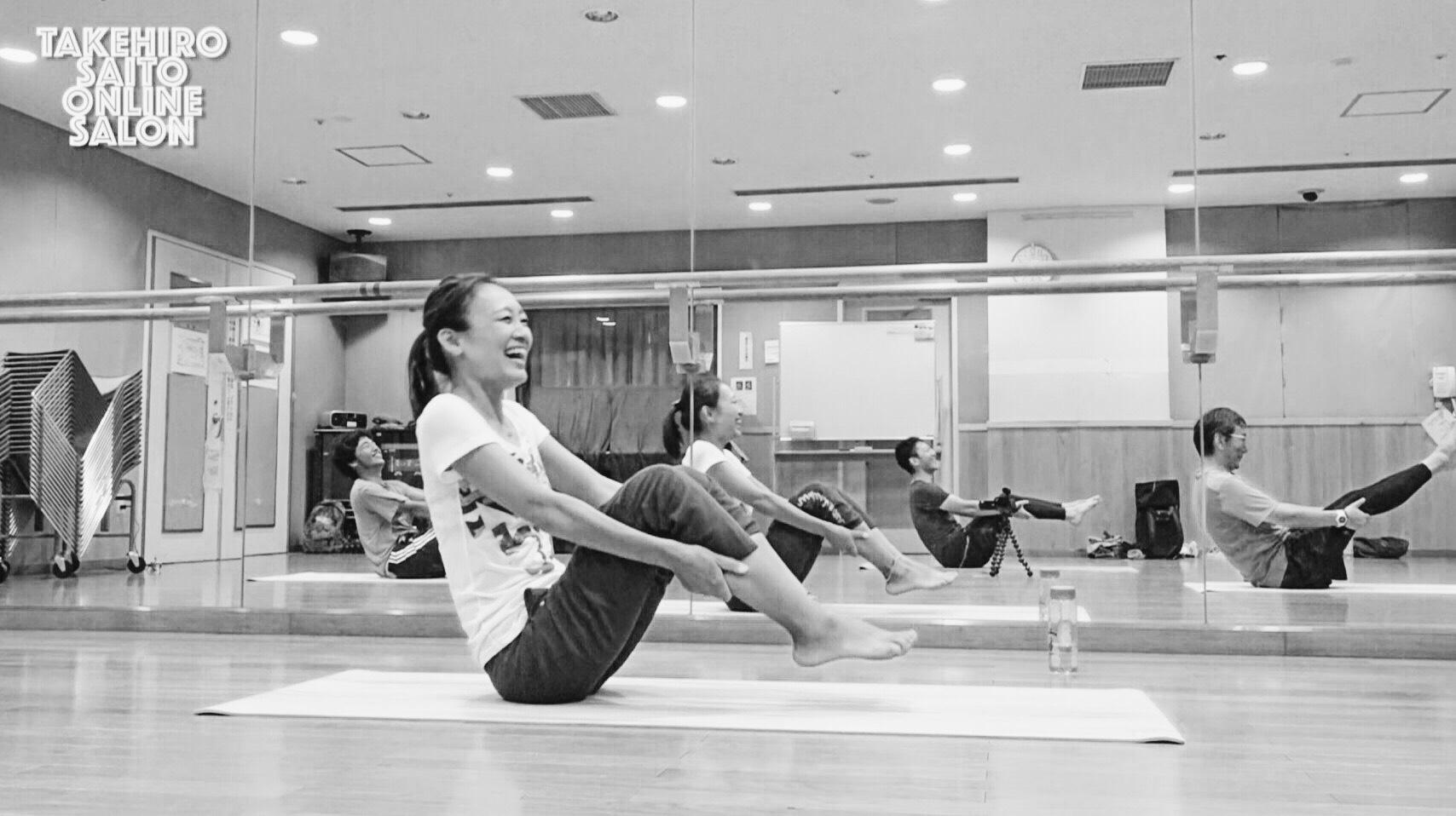 【イベント告知】軸を意識したトレーニング pert.2 Pilates Training Vol.6