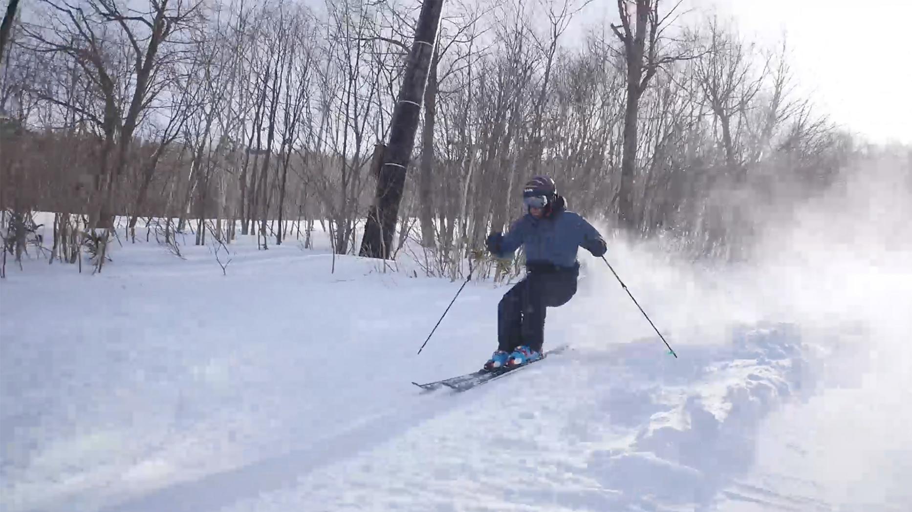 episode#33|近代的スキー術[DVD]のあの動きを試してみました