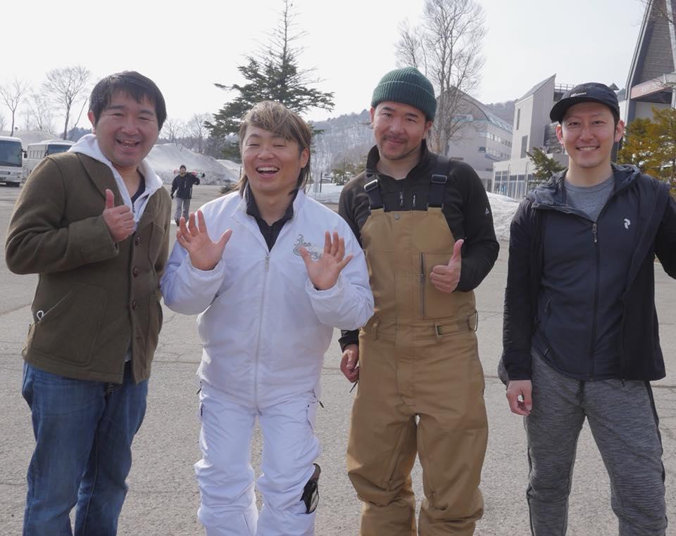 芸人の小石田純一さんとアルツ磐梯で滑ってきましたー🎿