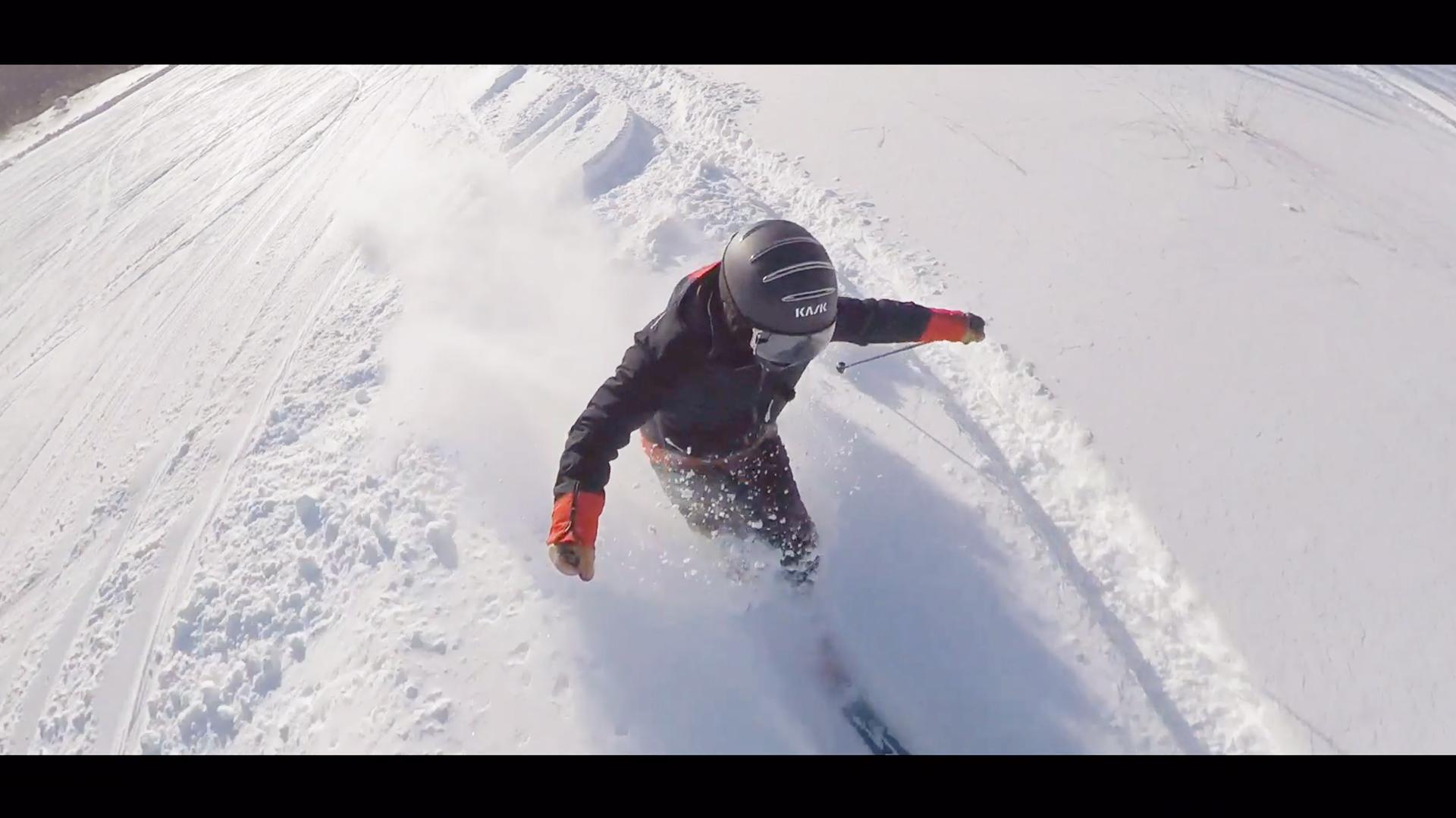 【スキー】1819シーズン初めの気持ちいい一本[Free Run]|Takehiro Saito