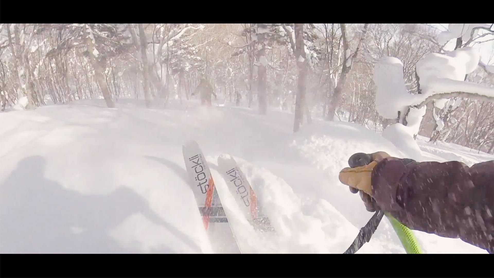 【スキー】1819シーズンの安比ツリーランエリア滑走シーンをまとめてみましたー|Appi Kogen 滑雪 앗 피고 원 스키|Takehiro Saito